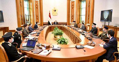 President ElSisi reviews the development of the Ministry of Interior facilities nationwide
