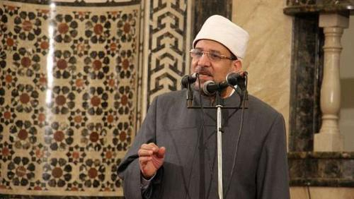 The Minister of Awqaf leads a Friday sermon in Muscat in Beni Suef